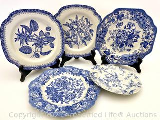 The Spode Blue Room Collectible Plates
