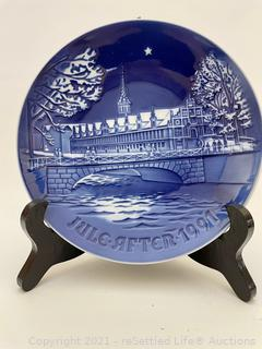 Bing & Grundal Collectible Plate