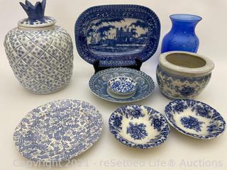 Variety of Collectible China