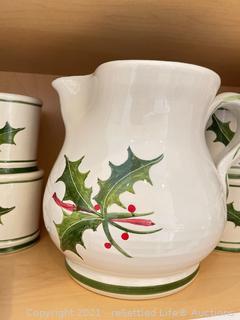 Holiday Pottery