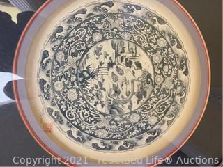 Limited Edition Decorative Framed Plates
