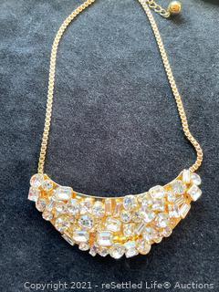 Kate Spade Flash Mob Crystal Necklace