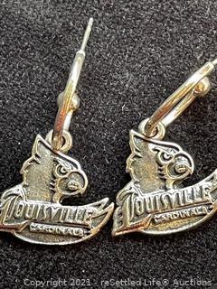 Louisville Cardinals Earrings