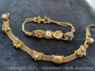 Pair of Goldette Bracelets