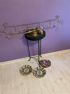 Side Table, Wall Sconces and More