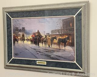 G. Harvey Limited Edition, Signed Print