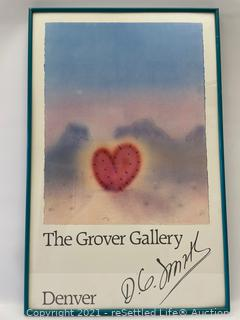 D.G. Smith Signed Print
