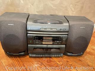 Sony Radio Cassette Stereo System