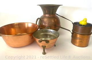 Union Pacific RR Solid Brass Spittoon and More