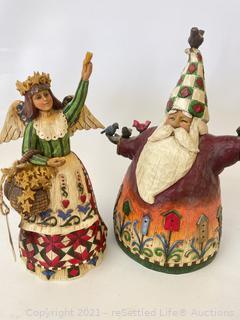 Pair of Jim Shore Figurines