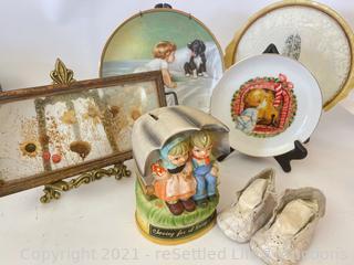 Variety of Decorative Plates