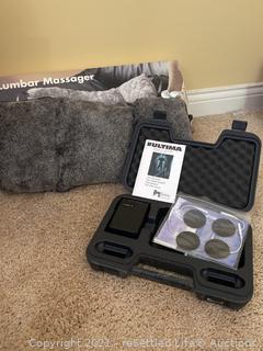 Ultima 3T Pain Management Kit and Lumbar Massager