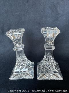 Waterford Candlestick Holders