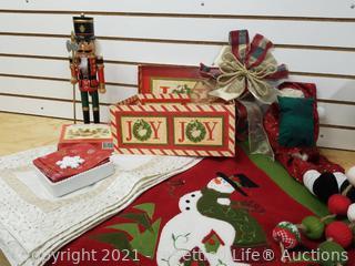 Collection Of Christmas Decor