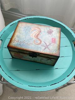 Blue Tray and Starfish Box