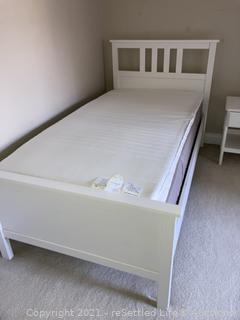 Twin IKEA Platform Bed