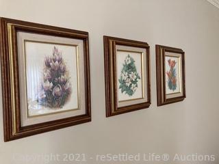 Trio of Saltiel Art