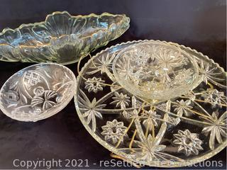 Jeanette Glass Gondola Bowl and more