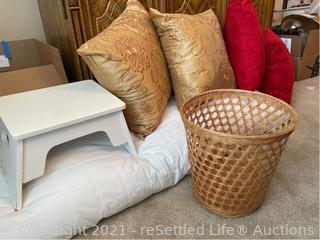 Step Stool, Body Pillow and More