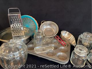 Muffin Pans, Pot and more