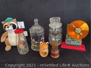 Variety of Collectibles
