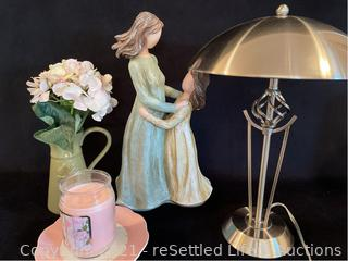 Table lamp and Home Decor