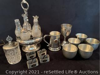 Variety of Pewter