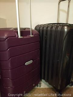 Samsonite and Delsey Luggage