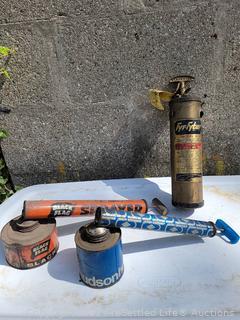 Vintage Fire Extinguisher & Sprayers