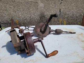 Antique Shoulder Drill & Sharpener