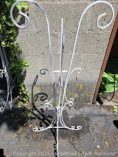 Vintage Wrought-Iron Plant Stand