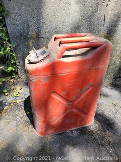 Vintage US Military Gas Can