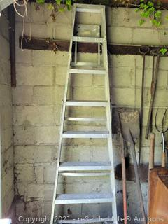 8ft. Aluminum Ladder
