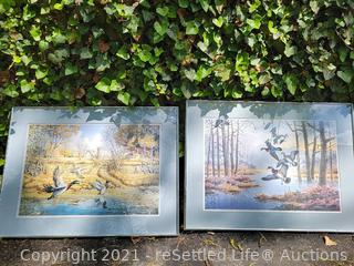 Andy Sinnwell and Jerry Raedeke Framed Artwork