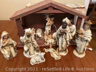 Musical Nativity Set
