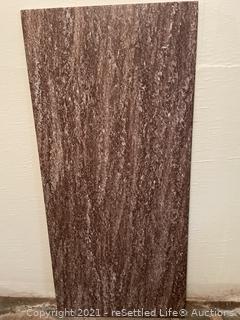 Slab of granite
