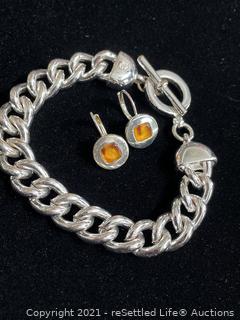 Ralph Lauren Bracelet and Earrings