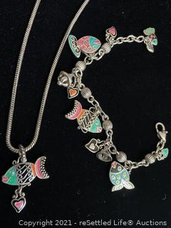 Brighton Necklace and Bracelet