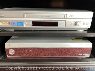Sony VHS and Pioneer Media Receiver