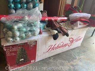 Variety of Christmas Decor