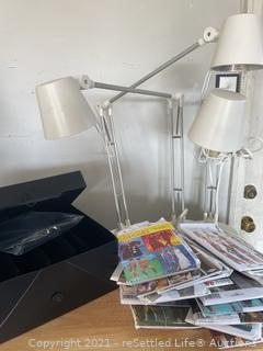 Trio of IKEA Lights and Sewing Patterns