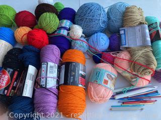Yarn and Hooks