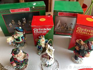 Crinkle Claus, Christmas Around the World and More