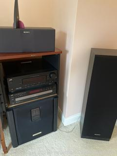 JVC and Sony Components/Speaker System