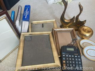 Brass Ducks, Picture Frames and More