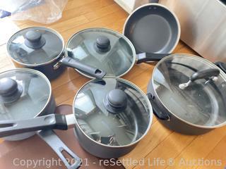 Basic Cookware 11 Piece Set