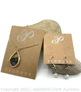 Plunder Necklace and Earrings
