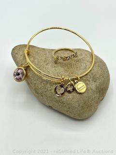 Alex & Ani Bracelet and Ring