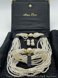 Andre Piasso Jewelry Set
