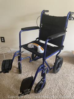 Transport Wheel Chair, Crutches and More